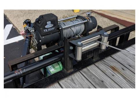 "MAXXD Tandam Axle Utility Trailer 18' 4"""